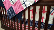 Nautical Baby Girl Crib Bedding