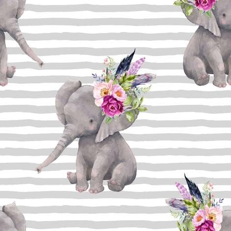 Cart Cover- Elephant Highchair/Cart Cover