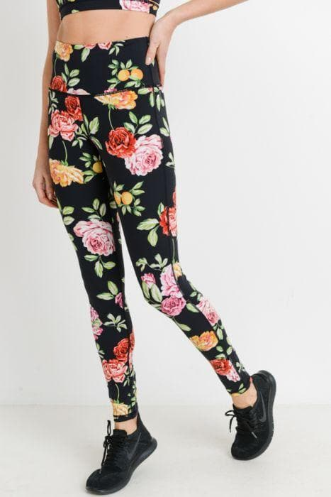 Full Leggings - Rose Parade