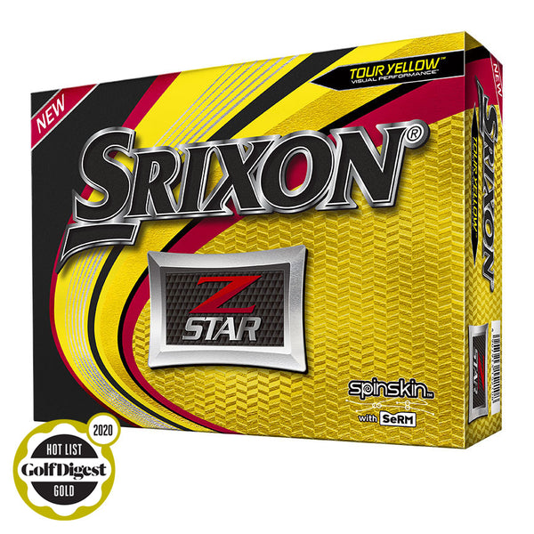 SRIXON Z-STAR 6 Tour Yellow Screen Logo