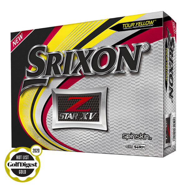 SRIXON Z-STAR XV5 Tour Yellow Screen Logo