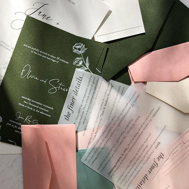 Wedding Invitation Sample Pack