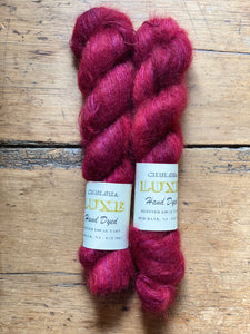 Chelsea Luxe Mohair Cranberry Cream Pie