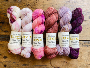 Chelsea Luxe Soleil 6 Skein Pinks Fade Kit