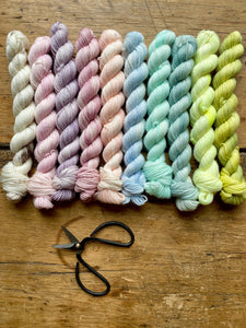 Chelsea Luxe Macaron Mini Skein Collection GLITTER