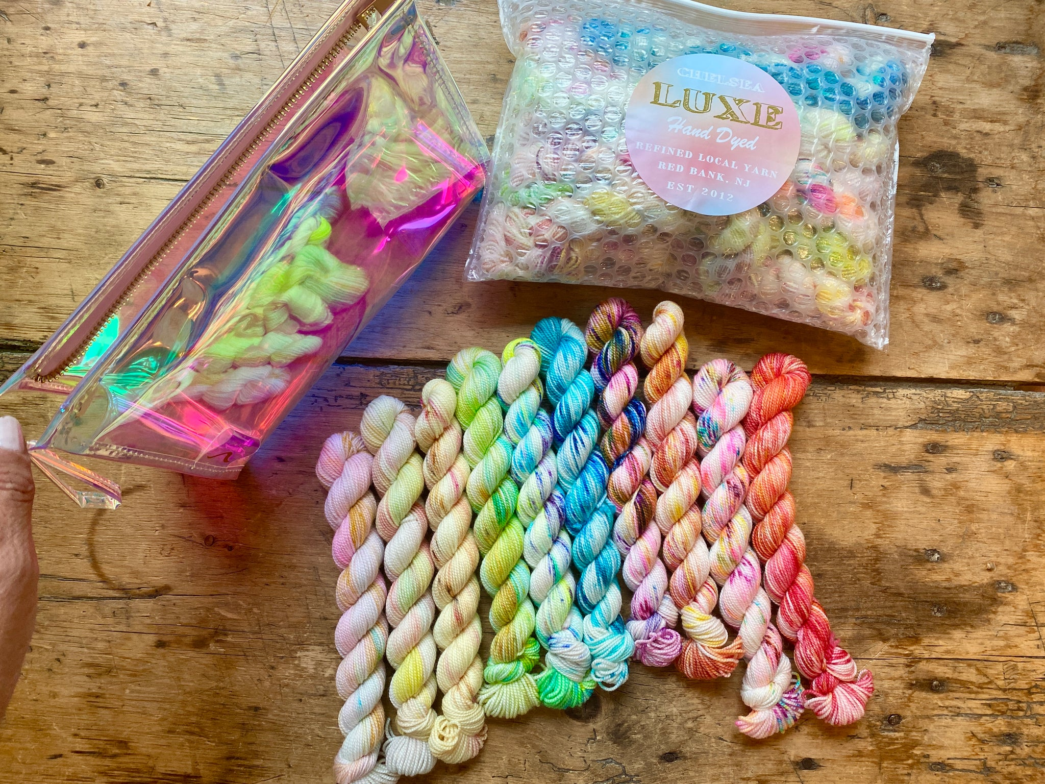 Chelsea Luxe Beach Collection Mini Skein Set