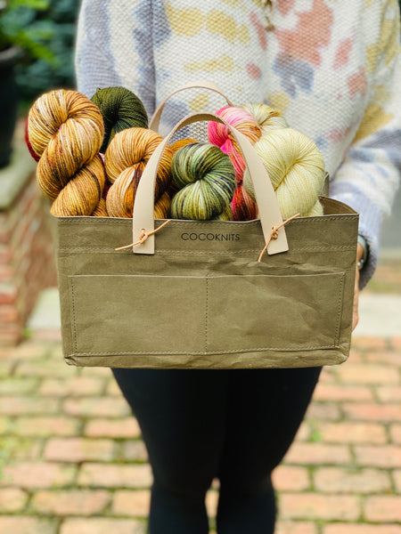 CocoKnits Kraft Caddy Set
