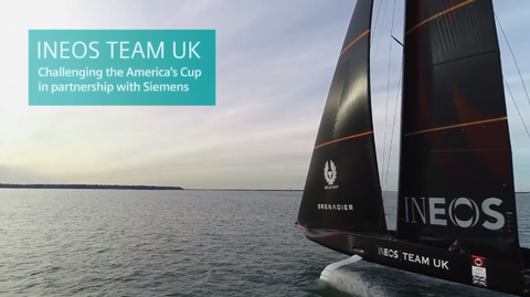 INEOS team UK, winner of SailGP Sydney uses Siemens STAR-CCM+