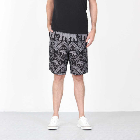 Elephant Shorts Black Grey 1