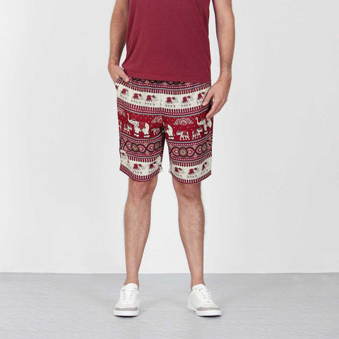Elephant Shorts Red 1