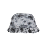 Twister Purple - Black tie dye bucket hat.