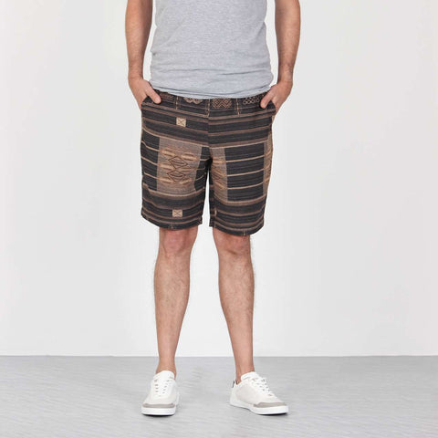 Shorts Black Jacquard 1