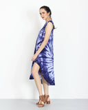 Tie Dye Dress Blue Splash 2