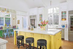 bright hues for kitchen-hapilife blog