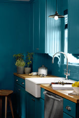 add dark colour to your kitchen-Hapilife blog