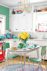 mix the colour in your kitchen-Hapilife blog