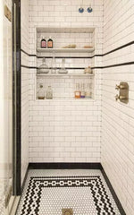 shower area tile