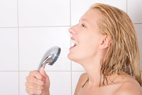 Sing in a shower-Hapilife