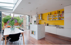 yellow kitchen wall-hapilife blog