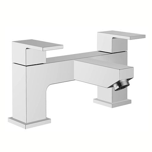 Eleanor Modern Bath Filler- Chrome