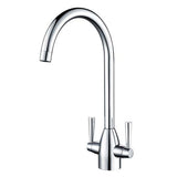 Hapilife® Mono Dual Lever Kitchen Tap-Chrome