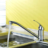 Hapilife Single Kitchen Mixer Tap with Swivel Spout-Chrome
