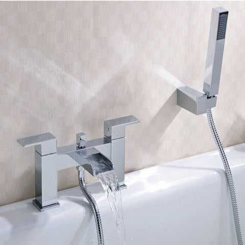 Max Waterfall Bath Shower Mixer -Chrome