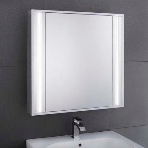 Hapilife Illuminated LED Mirror Cabinet 600(H) 605(W)