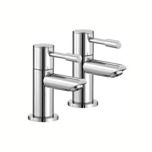 Freya Bath Pillar Taps-Chrome