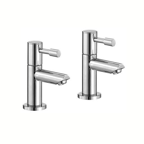 Freya Basin Pillar Taps-Chrome