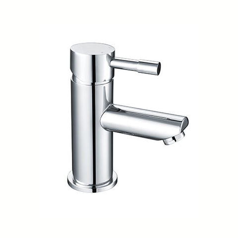 Freya Mini Cloakroom Basin Mixer with Sprung Waste -Chrome
