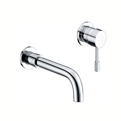 Freya Wall Mounted Basin Mixer -Chrome