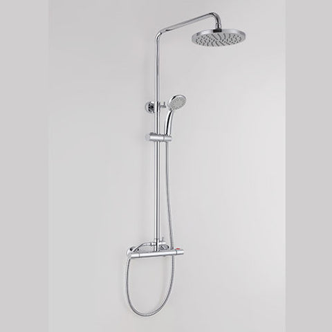 Hapilife®  Round Shower Mixer Set with Exposed Shower Valve