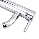 Hapilife 10 Years Warrany Tall Single Lever Chrome Plated Bathroom Sink Basin Mixer Tap