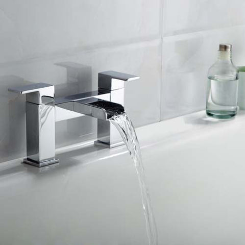 Max Waterfall Bath Filler -Chrome