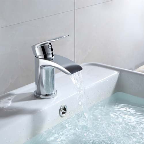 Hapilife®  Waterfall Mini Basin Mixer Tap - Chrome