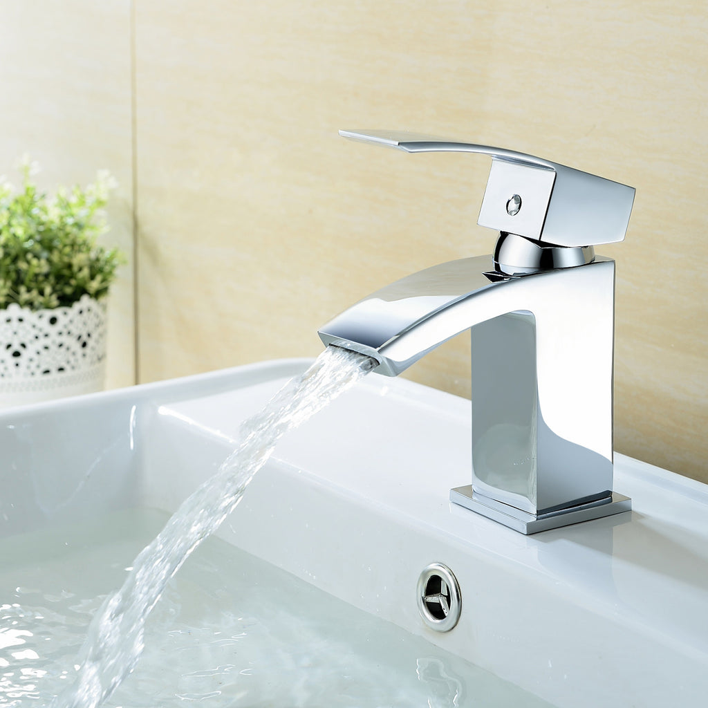 Hapilife® Square Basin Mixer Tap - Inc Basin Waste