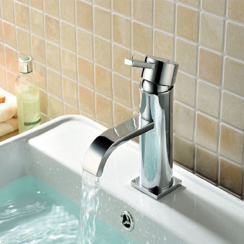 Deck Mono Basin Mixer with Sprung Waste