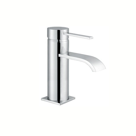 Deck Mini Mono Basin Mixer with Sprung Waste