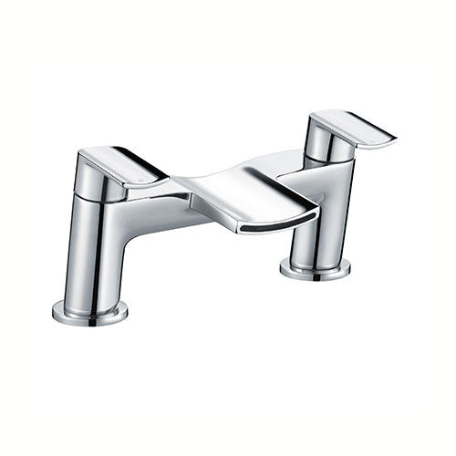 Viola Waterfall Bath Filler-Chrome