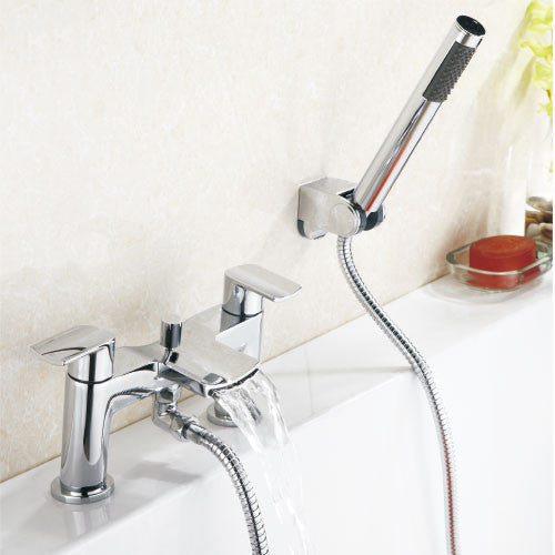 Viola Waterfall Bath Shower Mixer with Shower Kits