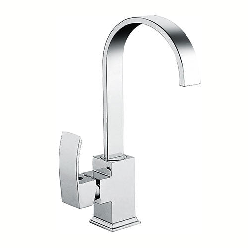 Hapilife® Circular Single Lever Kitchen Sink Mixer –Chrome