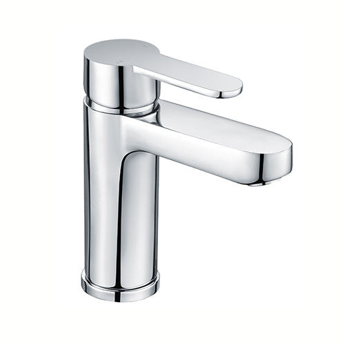 Layla Modern Basin Mixer with Sprung Waste