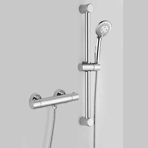 Hapilife®  Shower Slide Rail Kits with Thermostatic Shower Valve