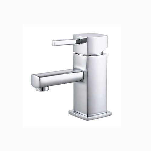 Ruby Minimalist Basin Mixer with Sprung Waste-Chrome
