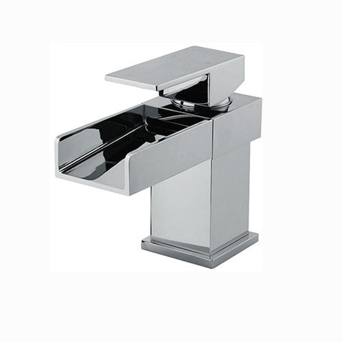 Haven Waterfall Basin Mixer -Chrome