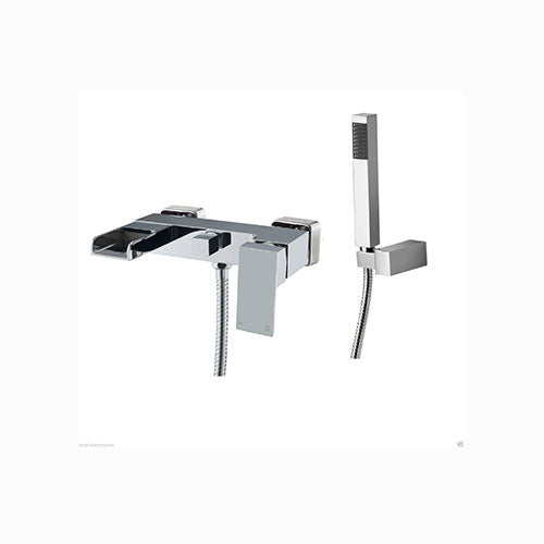 Max Wall Mounted Bath Shower Mixer-Chrome