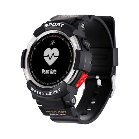 New Rugged Outdoor IP68 Waterproof Sports Smart Watch with Sleep Monitor Remote Camera GPS Watch for IOS & Android
