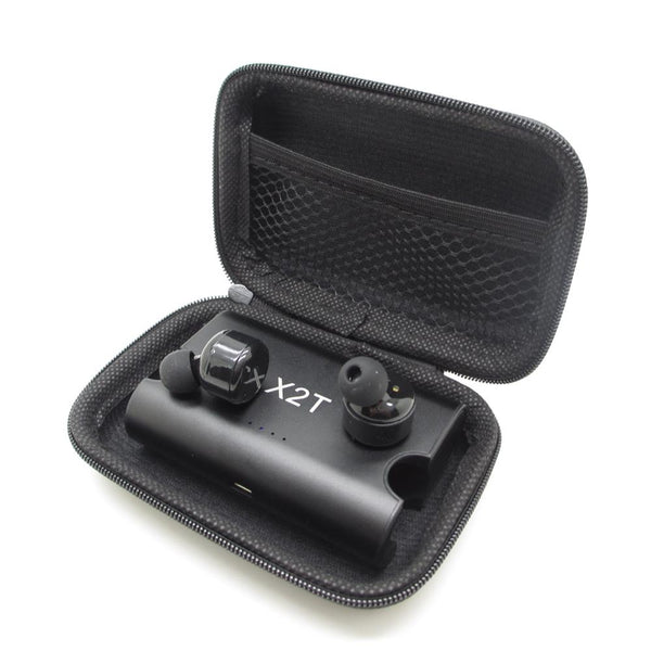 New True Wireless Earbuds Twins Bluetooth 4.2 Earphone Stereo with Magnetic Charger Box Case for Mobile Phones