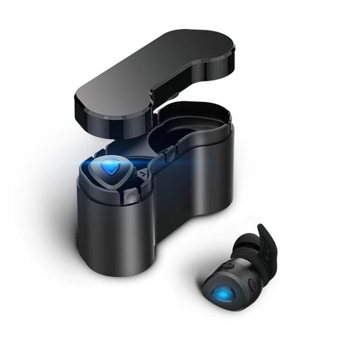 New Smart Mini Bluetooth Wireless Earbuds Wireless Earphone with Volume Control for Android IOS Phone